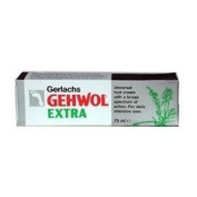 THREE PACKS of Gehwol Foot Cream Extra 75ml
