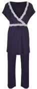 Radiance Maternity Breastfeeding Short Sleeve Pyjamas