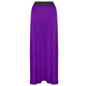 Ladies Long Maxi Skirt Womens Stretch Jersey Long Length Plus Size Gypsy Skirts