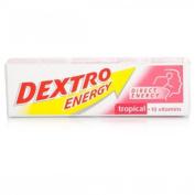 Dextro Dextro Energy Tropical 47g-PACK OF 3