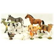 Farm Animal Set Of 12 Pieces