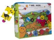 Mr Men 45 Piece Floor Puzzle - Mr Happy Has Car Trouble
