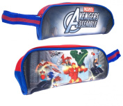 AVENGERS ASSEMBLE MARVEL COMIC SUPER HERO PENCIL CASE KIDS CHILDRENS SCHOOL STATIONERY