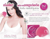 Abalone Collagen Breast & Body Soap Pack of 2 Bars (2x70 grammes) Net wt. 150ml BY Miss Siam