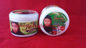 Jal-fa Natural Black Soap with Fresh Cocoa & Aloe Vera with Strawberry 440ml