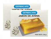 Dermacare Oatmeal Bar Soap, 100 gr - Package of 2.