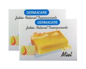 Dermacare Zabila (Aloe) Bar Soap, 100 gr - Package of 2.