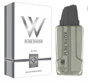 Pure Water European American Design for Men Eau De Toilette Spray 2.5 Fl. Oz.