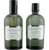 GREY FLANNEL by Geoffrey Beene (MEN) GREY FLANNEL-EDT SPRAY 120ml & AFTERSHAVE LOTION 120ml