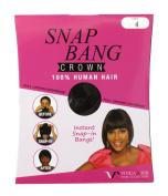 VIVICA A FOX 100% Human Hair SNAP BANG CROWN