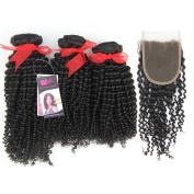 "Eayon Hair ®100% Virgin Brazilian Remy Human Hair Weft/Extensions Kinky Curly 10""-26""3 Bundles 300 Grammes AAAAA Grade Unprocessed Brazilian Remy Human Hair"