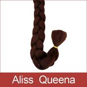 Aliss Queena(TM)Kanekalon X-pression Ultra Jumbo Braid Hair Extension