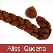 Aliss Queena(TM)#30 Kanekalon Soft Jumbo Braid 100% Fibre Syntheitc Braiding Hair Dreadlock Extension