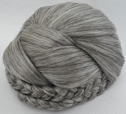 BLISS Dome Wiglet Chignon Bun Hairpiece - 51 Grey with 25% Brown