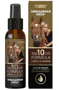 """Top 10 Oils Formula"" Essential Oil Blend for Hair Growth & Deep Restoration, 3.38 oz/ 100 ml"