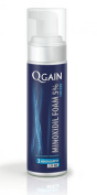 QGAIN MINOXIDIL 5% Foam 3 Month Supply Hairloss Treatment for MEN