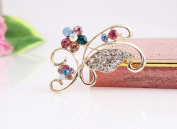 Beyend Fashion Butterfly Brooch Pin