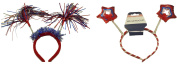 Festive Patriotic Headband, Style Randomly Chosen