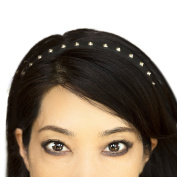 Miss Kitty Studded Black Leather Headwear Headband
