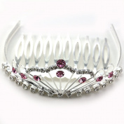 Mini Princess Queen Crown Tiara Comb Halloween Party Prom Lady Girl Teen Fashion Jewellery Beauty Pageant Hair Accessory