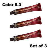 L'Oreal Professionnel Majirel Ionene G Incell 5.3, Pack of 3 tubes