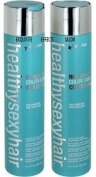 Healthy Sexy Reinvent Shampoo & Conditioner for Damaged Fine Thin Hair 300ml Each