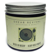 Shear Revival Music or Misery Heavy Hold Pomade 120ml