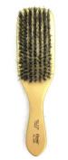 soft wave 100% pure BOAR BRISTLE WAVE HAIR BRUSH durag gold, , soft bristles, natural boar bristles, boar bristles, wood handle, soft brush, polished gold, gold finish, wavy hair, curly hair, girl