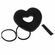 Lowpricenice Heart Shaped Hair Curlers Sponge Curls Rollers