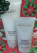 Joan Rivers Beauty the Right to Bare Legs Corrective Cover Up (FAIR) and Moisturiser Christmas Gift SET