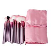 iMeshbean® New 22pcs Professional Makeup Brushes Set Cosmetic Foundation Powder Professional Blush Eyeliner Brush Tool with Carry Case USA