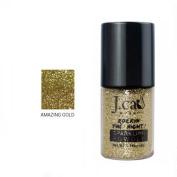 J. Cat Sparkling Powder 211 Amazing Gold