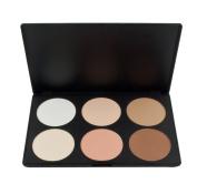 MERSUII™ Cosmetics Professional 6 Colours Contour Face Power Foundation Makeup Palette