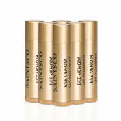 Saintsco Bee Venom Lip Plumpers X 6 - The Best Bee Venom Lip Plumper Lip Enhancer Lip Balm From New Zealand - Get Fuller, Sexier Lips Without Injections - Made with Manuka Honey UMF 15+, Shea Butter, Grape Seed Oil, Cocoa Butter. Worldwid ..