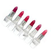 Saffron Set Of 6 Lipsticks Pink Shades