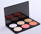6 colour foundation the repair capacity concealer dark circles freckles acne Makeup Palette - Light-coloured