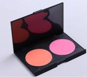 2 Colour Powder Blush plate small size Makeup Palette