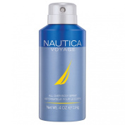 Nautica Voyage Body Spray, 4 Fluid Ounce
