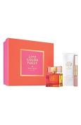 Kate Spade Live Colourfully Holiday 2014 3pc Gift Set , 100ml EDP, 100ml Body Lotion, & 5ml Rollerball & Lip Gloss Duo