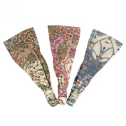 Silly yogi Pack of 3 Indo Batik headband