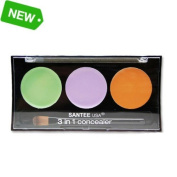 Colourfix 3 Colours in 1 Corrective Concealer Palette With Minerals /Spot & Scar Eraser Vitamin E Enriched Formula
