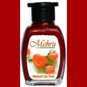 Mehru Lip Dye, Natural Herbal Lip Stain - Sunset