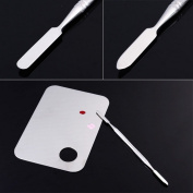 Yesurprise A+ High Quality Pro Stainless Steel Cosmetic Makeup Palette Spatula Tool Body Care / Beauty Care / Bodycare / BeautyCare