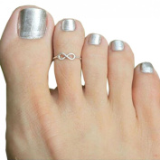 Lookatool Toe Ring Adjustable Foot Jewellery Gifts for Women