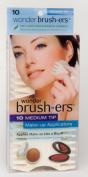 Wonder Brush-ers Make-up Applicators - 10 Medium Tip