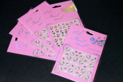 Hello Kitty Nail Art Sticker - 5 pack Mixed Design
