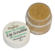 Green Tea & Honey Organic Lip Scrub By Diva Stuff, 30ml