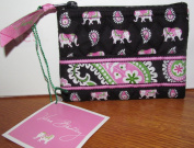 Vera Bradley 'Pink Elephant' Coin Purse Breast Cancer Foundation