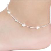 Lowpricenice(TM)Women Chain Ankle Bracelet Barefoot Sandal Beach Foot Jewellery