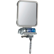 Ideal for shaving, Suctions strongly to shower wall, Razor holder, Fog free